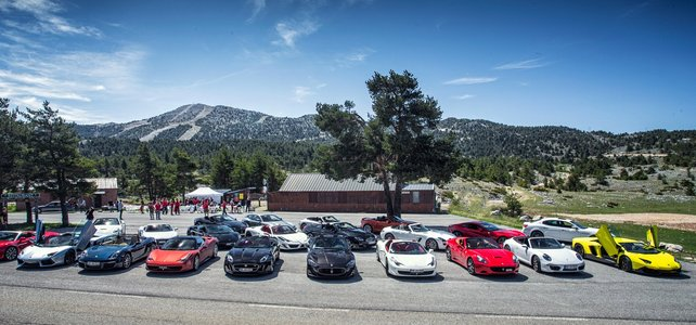 28th Sept 2019 - Supercar Rally - Geneva to Saint Tropez - Supercar Tour / Test Event