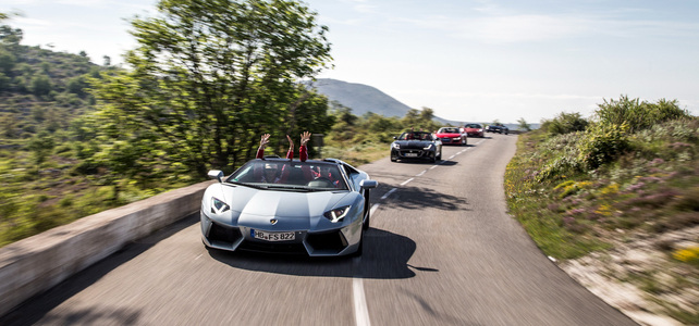 27 May 2020 - Test Event, South of France  - Supercar Tour / Test Event