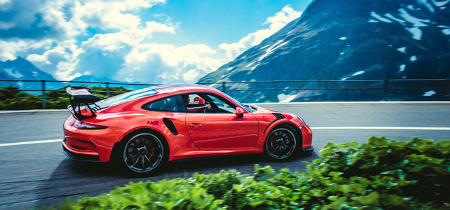 Porsche GT3 RS Driving Tour - 4 Days - European Driving Holiday