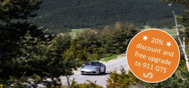 Porsche 911 South of France Winter Offer - European Driving Holiday