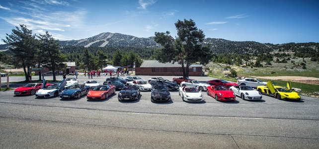Supercar Group Tour  - European Supercar Hire from Ultimate Drives