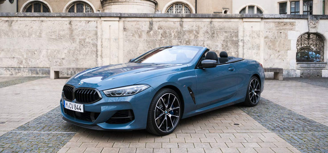 BMW M850i Cab - European Supercar Hire from Ultimate Drives
