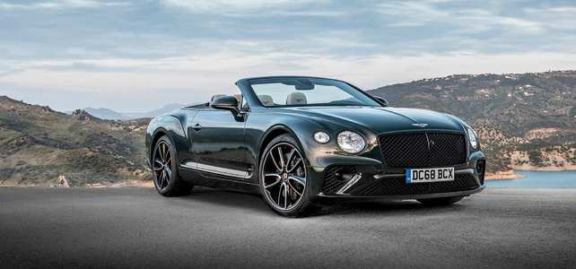 Bentley GTC - European Supercar Hire from Ultimate Drives