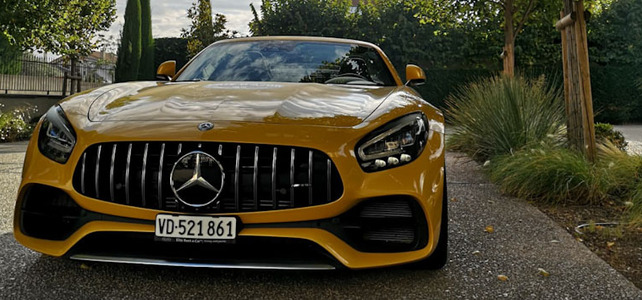 Mercedes AMG GT Roadster  - European Supercar Hire from Ultimate Drives