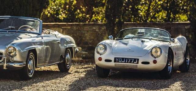 Porsche Spider  - European Supercar Hire from Ultimate Drives