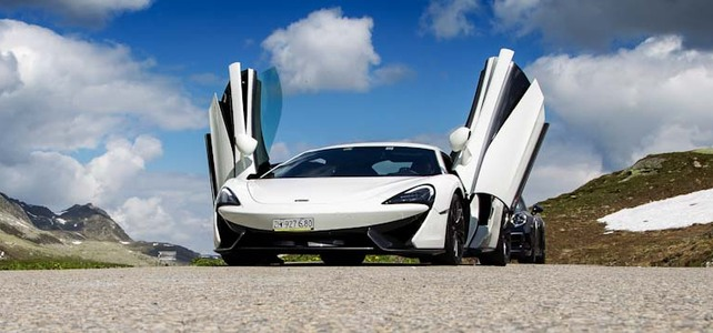 McLaren 570S - European Supercar Hire from Ultimate Drives
