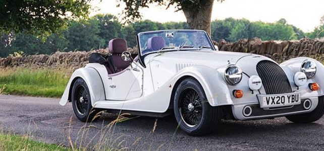 Morgan Plus Four - European Supercar Hire from Ultimate Drives