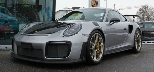 Porsche 911 GT2RS, 991,2 - European Supercar Hire from Ultimate Drives