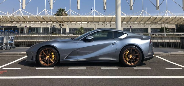 Ferrari 812 Superfast - European Supercar Hire from Ultimate Drives