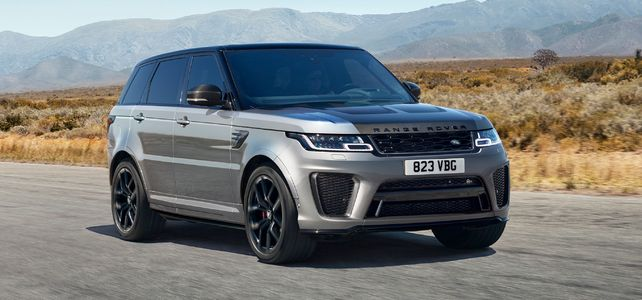 Range Rover Sport V8 SVR - European Supercar Hire from Ultimate Drives