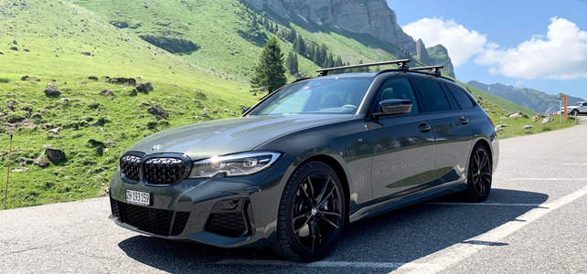 BMW M340i Touring  - European Supercar Hire from Ultimate Drives
