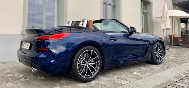 BMW Z4 - European Supercar Hire from Ultimate Drives