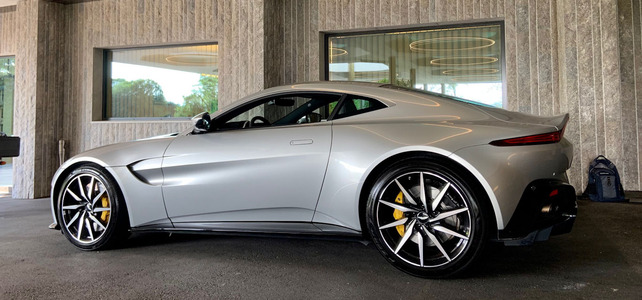 Aston Martin V8 Vantage - European Supercar Hire from Ultimate Drives