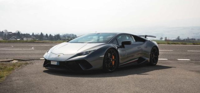 Lamborghini Huracan Performante Coupe - European Supercar Hire from Ultimate Drives