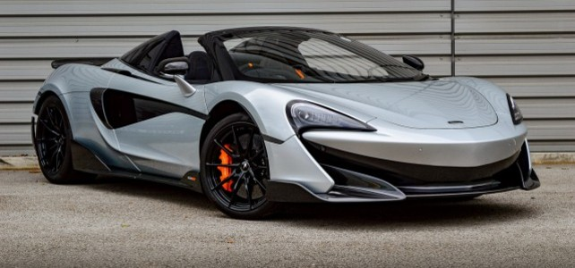 Mclaren 600LT Spider  - European Supercar Hire from Ultimate Drives