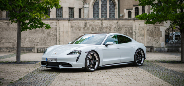 Porsche Taycan Turbo - European Supercar Hire from Ultimate Drives