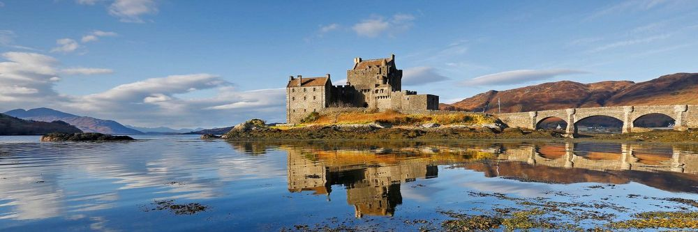 The Castle of Eilean Donan - NC500 Drive Scotland Road Trip