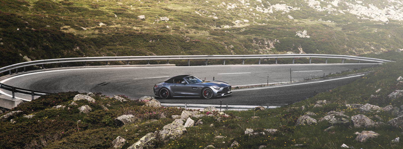 Mercedes AMG GT Roadster - Driving Holiday