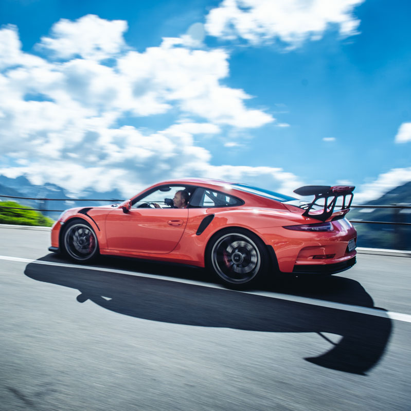 GT3RS Porsche Driving Experience - 4 Days