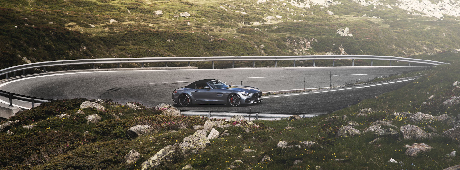 Supercar Experiences with AMG GT Roadster  in Alps