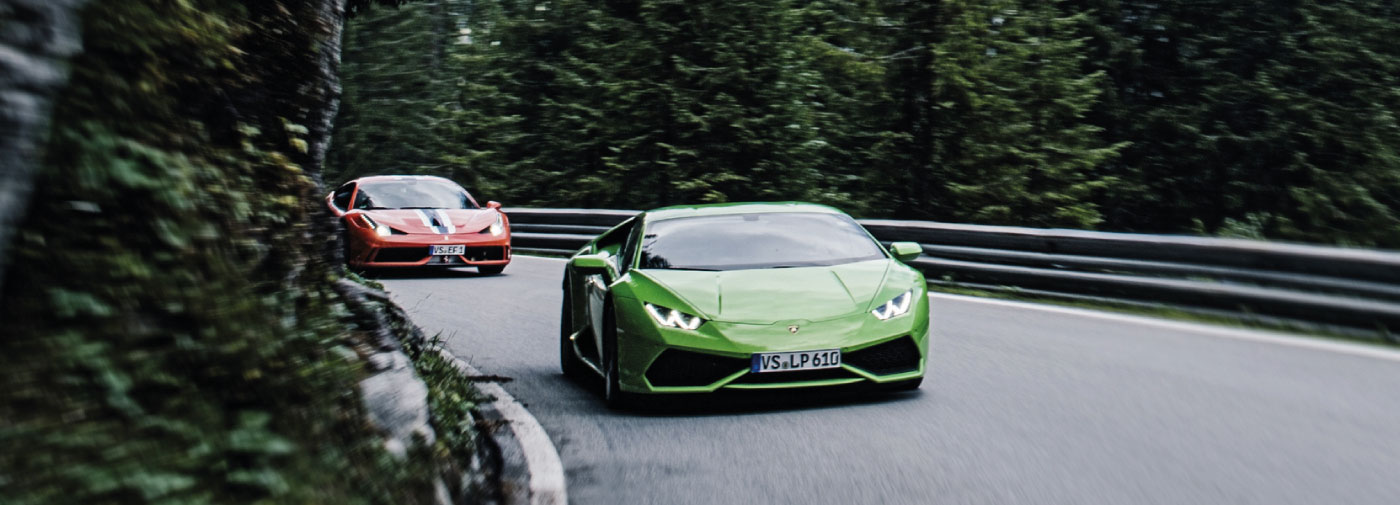 Driving Holidays In Europe Supercar Experience Black