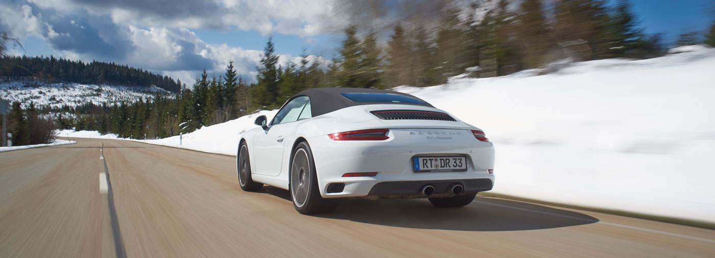 Driving Holidays In Europe Porsche 911 Black Forest