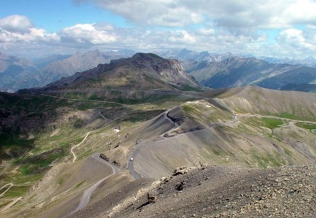 Col de la Bonnette / French Alps  - Top 10 Driving Road