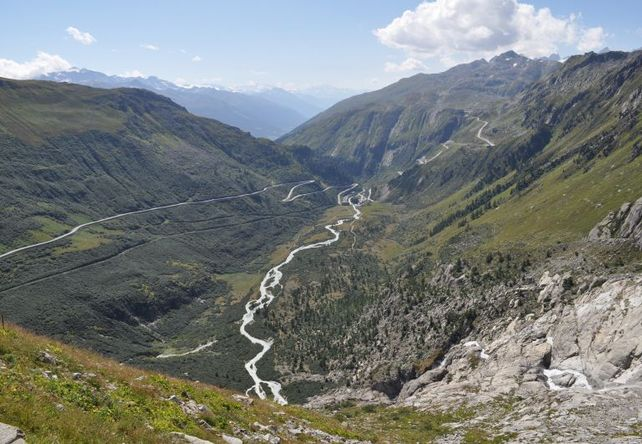 Furka Pass / Swiss Alps - Top 10 Driving Road