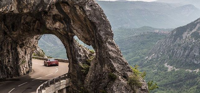 Route Gentelly / Alps Maritimes - Top 10 Driving Road