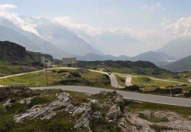 San Bernardino / Swiss Alps - Top 10 Driving Road