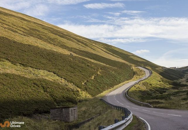 The Old Military Road / Highlands - Top 10 Driving Road