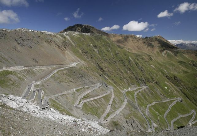 Stelvio Pass / Italian Tyrol - Top 10 Driving Road