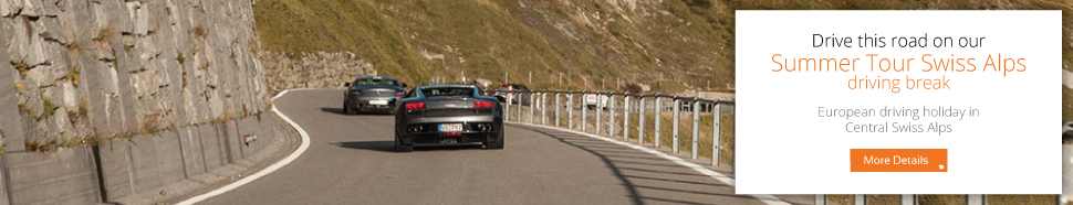 Drive this road on our Summer Tour Swiss Alps driving break