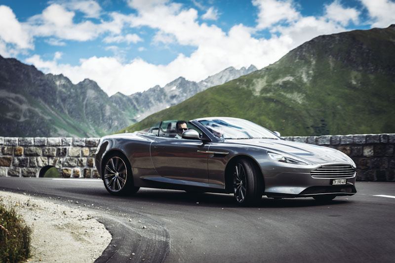 Aston Martin Driving Experience - the Furka Pass