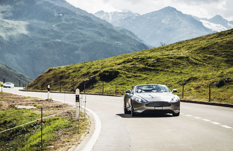 Aston Martin Driving Experience in the Alps