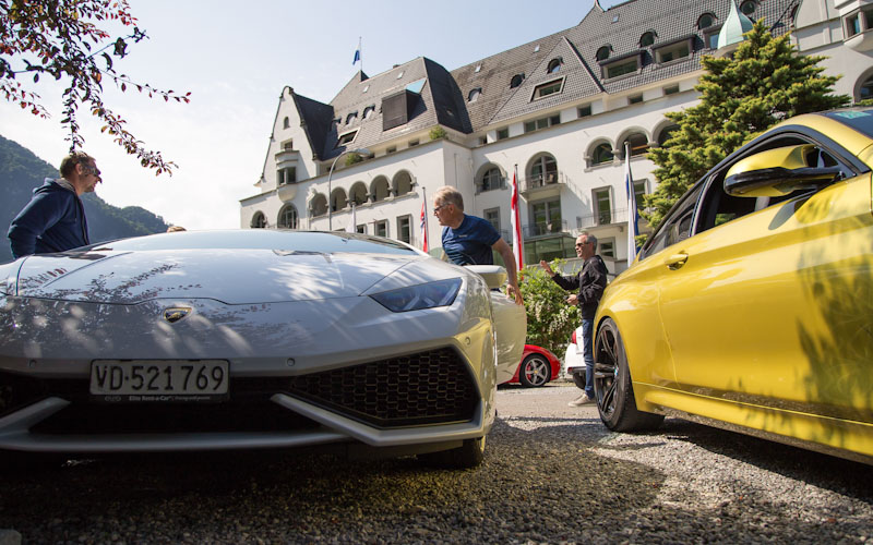 Supercar Road Trip Driving Holidays - St Moritz tours