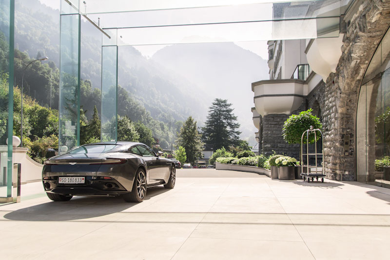 Aston Martin Driving Experience in Alps - Car delivery at hotel