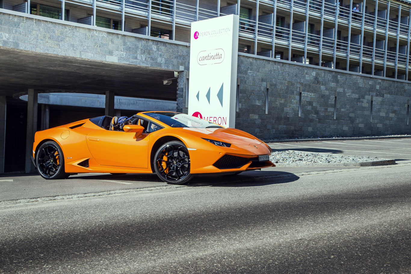 Lamborghini Driving Holidays - ready for Alps