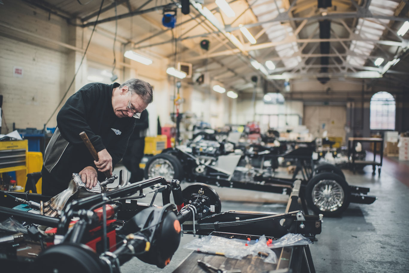 Morgan Driving Tours in the UK - Factory Tour