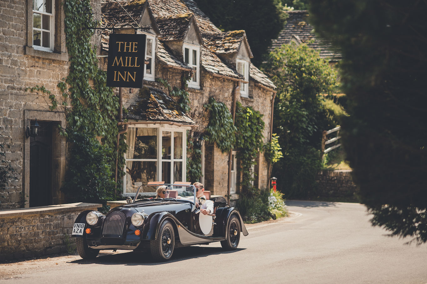 Morgan Driving Tours in the UK
