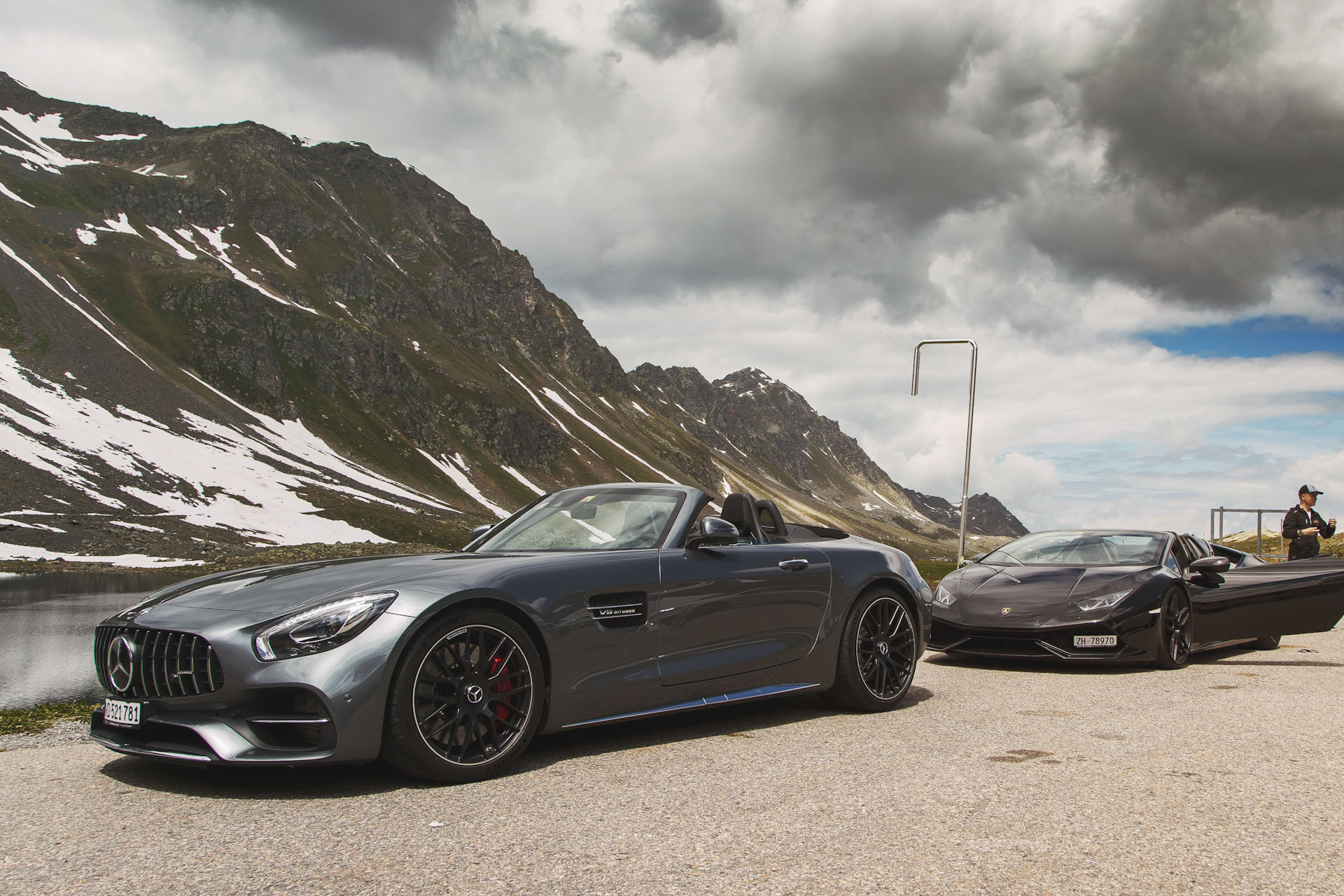 Supercar Experience in the Alps - 200KM in AMG GT