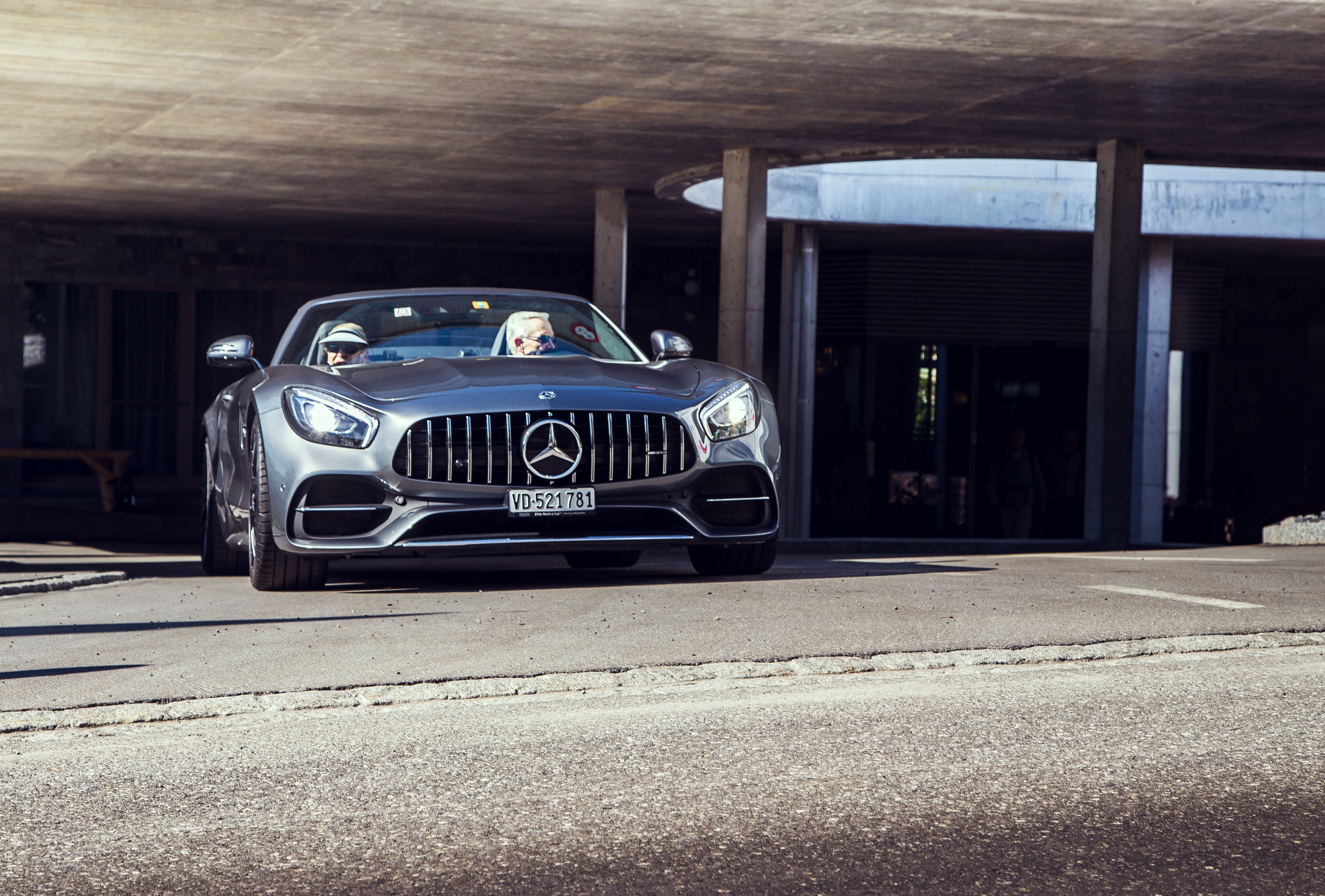 Supercar Experiences in the Alps - AMG Hotel delivery