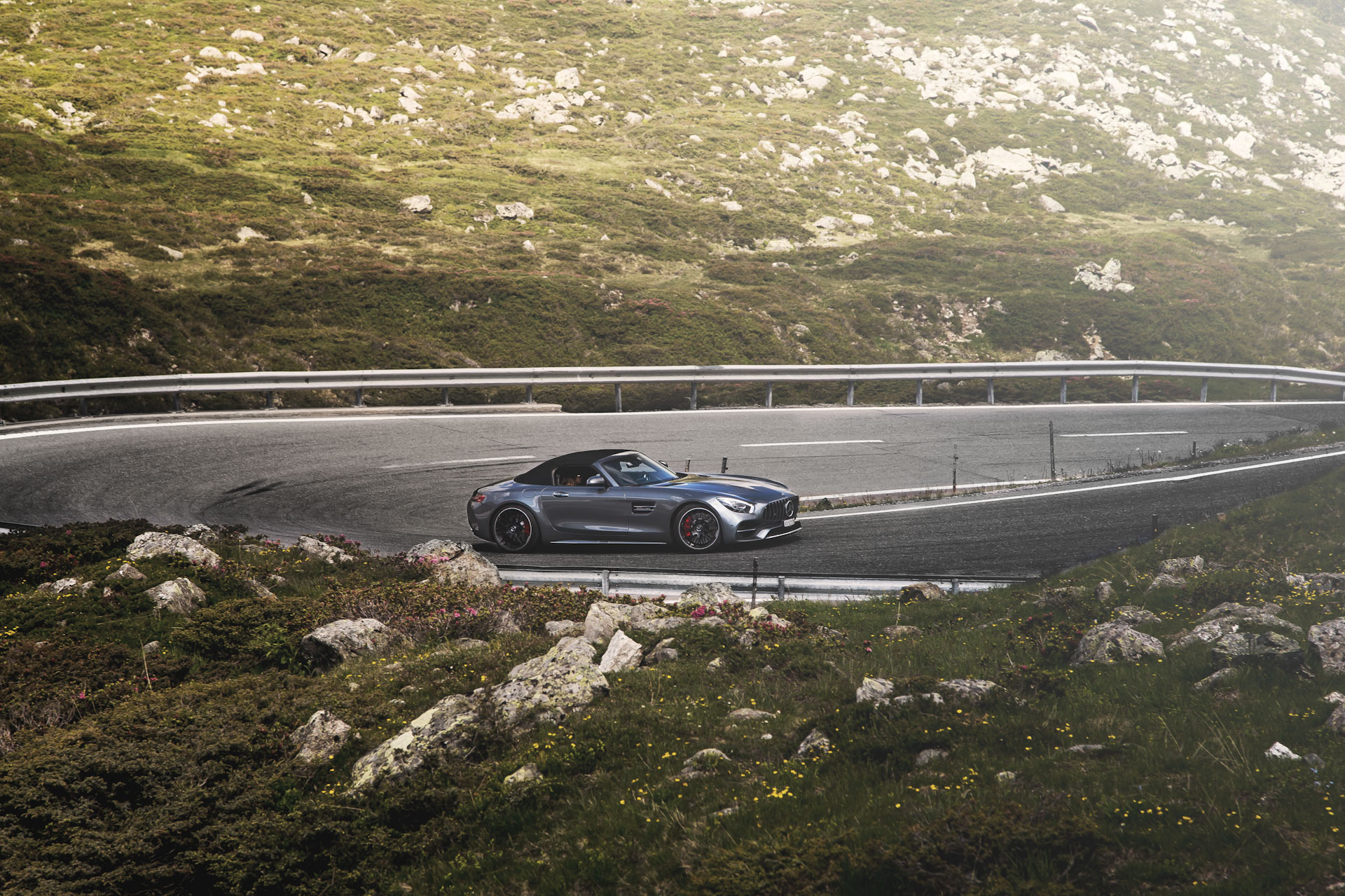 Supercar Experiences Alps - Mercedes AMG GTC
