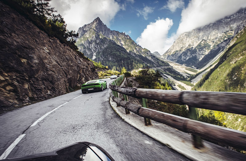 Supercar Tours and Test Events - Hahtenjoch Pass