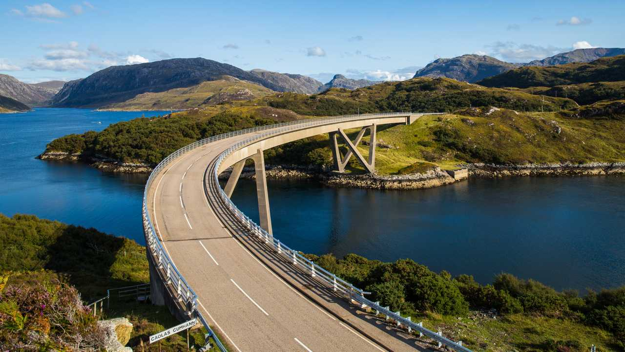 Kylesku Bridge Scotland